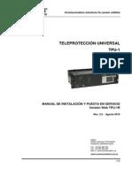 TPU-1_Instalación y Puesta Servicio