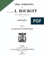 1899 Paul Bourget