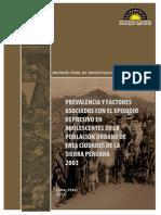 prevalencia y factores asociados con el episodio depresivo(peru)