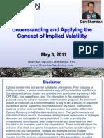 CBOE Understanding Apply Imp Vol May2011
