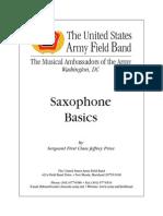 Price, Jeffrey - Saxophone Basics (US Army)