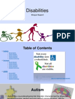 disabilities power point