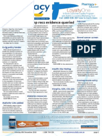 Pharmacy Daily for Mon 08 Dec 2014 - Comp recs evidence queried, Rare disease strategy call, E-cig policy tender, Bowel cancer screen reduces risk, and much more