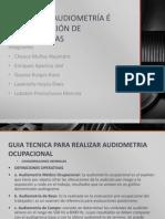 Manejo de Audiometría é Interpretación de Audiometrías