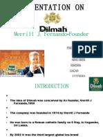 Ppt Dilmah