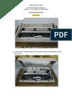 Desensamble y Ensamble Impresora EPSON FX-1050