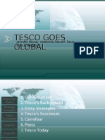 Tesco Goes Global