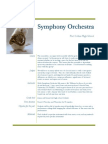 symphony orchestra management plan
