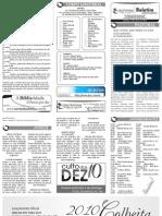 Boletim Informativo - 10 de Janeiro de 2010