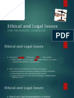 ethical and legal issues presentation