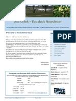 Axe Creek Eppalock Newsletter, Issue 45