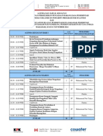 Agenda Pelatihan Penanganan Perselsihan