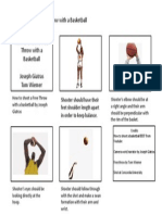 storyboard powerpoint how to shoot a basketball