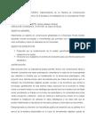 Perfil de Proyecto Alcaldía Piedra Grande.