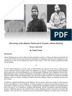 1888-1947- Chronology of the Khaksar Tehrik and its Founder, Allama Mashriqi by Nasim Yousaf