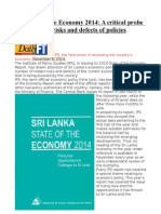 IPS State of the Economy 2014 a Critical Probe Shows Hidden Risks and Defects of Policies