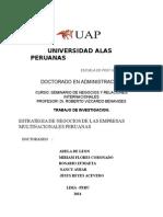 TRABAJO DE INVESTIGACION- EMPRESAS MULTINACIONALES PERUANAS.doc
