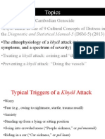 Ethnophysiology of a Khyâl Attack 6/29/15