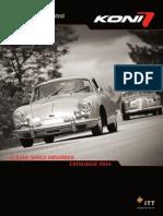Koni Catalogo Auto Classiche 2014