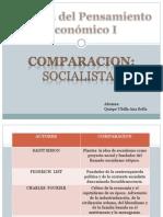 Comparacion de Los Socialistas