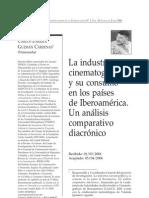 Carlos Enrique Guzmán Cárdenas. La Industria cinematográfica y su consumo en Iberoamérica.