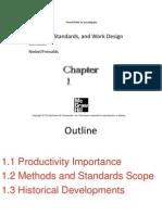 1 Methods Standards and Work Design