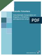 Estudio Voluntare Voluntariado Corporativo Empresa