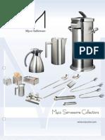 Myco Tableware 2010 Catalog