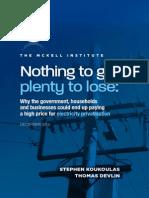 Electricity Privatisation Version 1