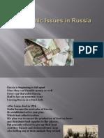 economic issue in russia