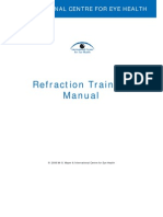 Refraction Training Manual