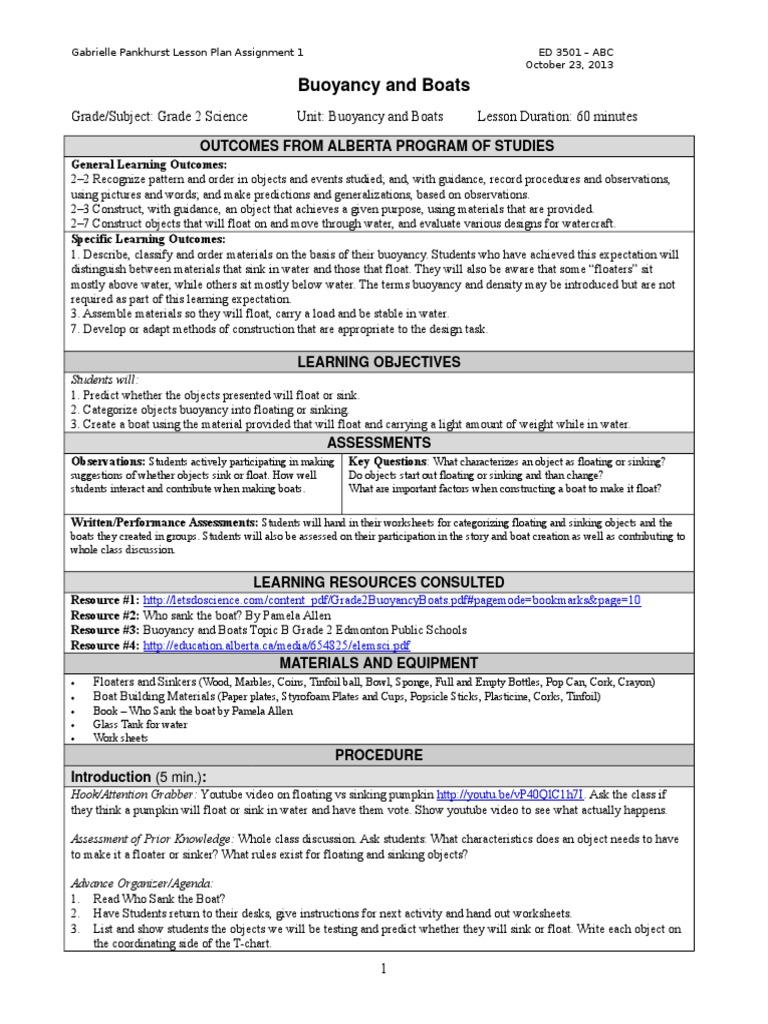 Worksheet Buoyancy Worksheet Worksheet Fun Worksheet Study Site