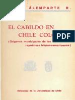El Cabildo en Chile Colonial.