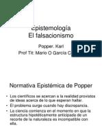 El Falsacionismo Karl Popper
