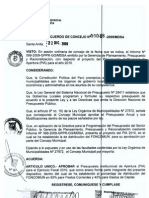 Municipalidad Distrital de Santa an/Ta