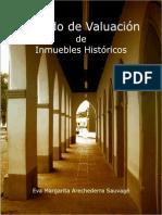 Valuacion de Inmuebles Catalogados