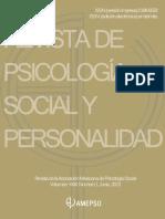 REVISTA DE PSICOLOGÍA XXXI
