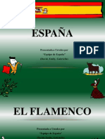 official flamenco spanish