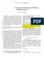 A Blind SLM Scheme for Reduction of PAPR in OFDM Systems