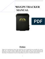 GPS102-B User Manual-2013-11-5