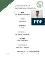 Reporte 2-Diodo Serie y Diodo Paralelo