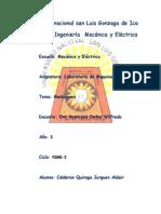 Informe Lab. de Maquinas Electricas 1