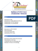 Syllabus CNC Fanuc