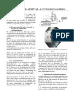 Eficiencia Del Caldero- SCRIB