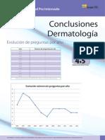Conclusiones Dermatología