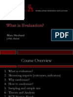 What is Evaluation Slides