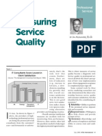 Measuring Service Quality