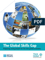 Think Global and British Council the Global Skills Gap