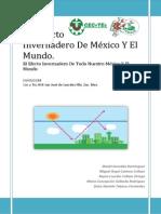 Ecologia (El Efecto Invernadero De México Y El Mundo) completo.docx