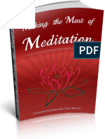 Making The Most of Meditation